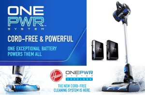 Hoover ONEPWR Cordless system – FloorMate Jet, Blade+, Spotless GO, Utility Vac and Sweeper