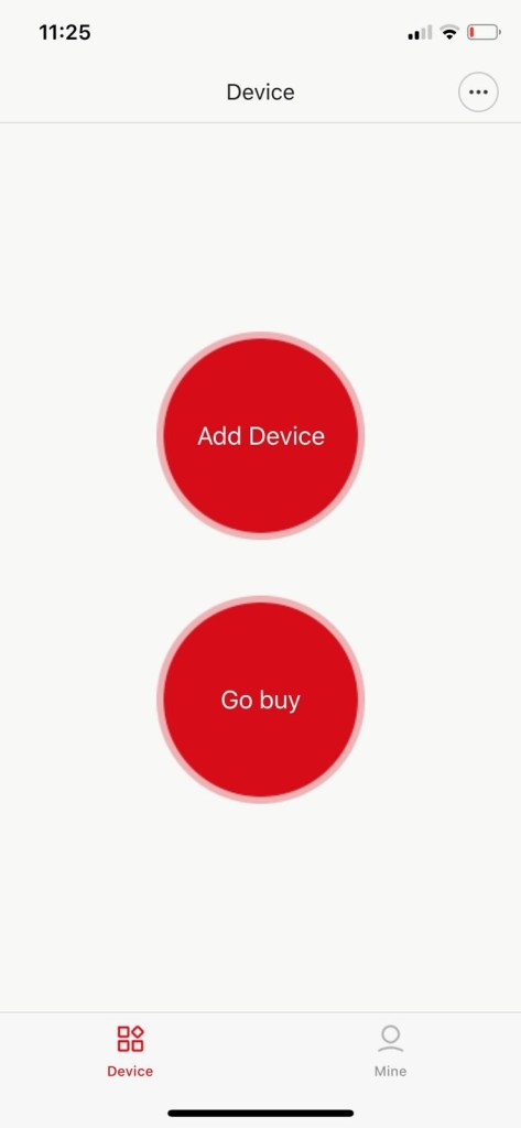 Select 'Add a device'