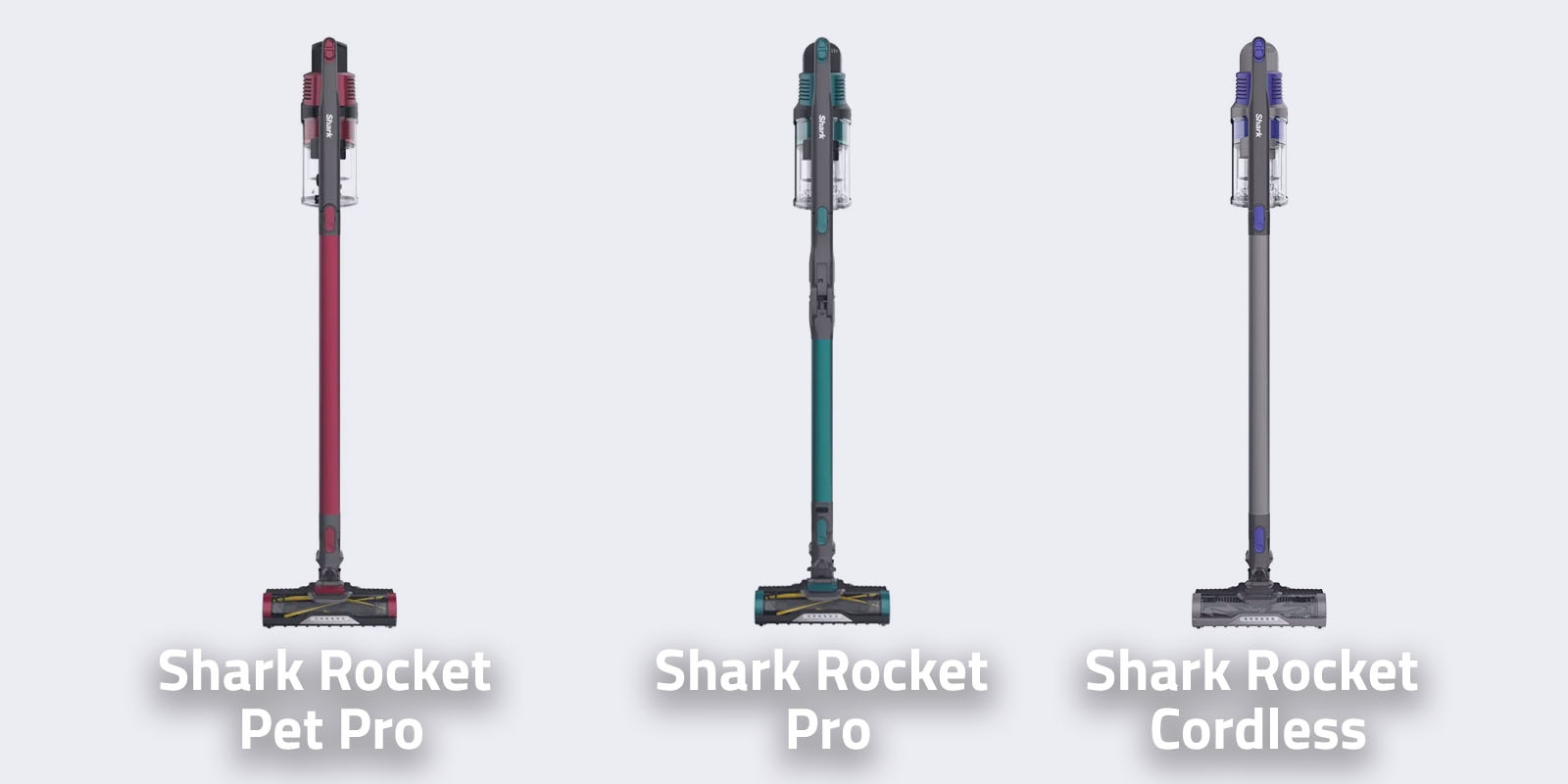 Shark Rocket Pet Pro vs Shark Rocket Pro vs Shark Rocket Cordless