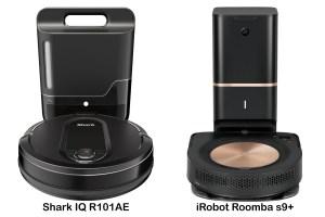 Shark IQ R101AE vs iRobot Roomba s9+