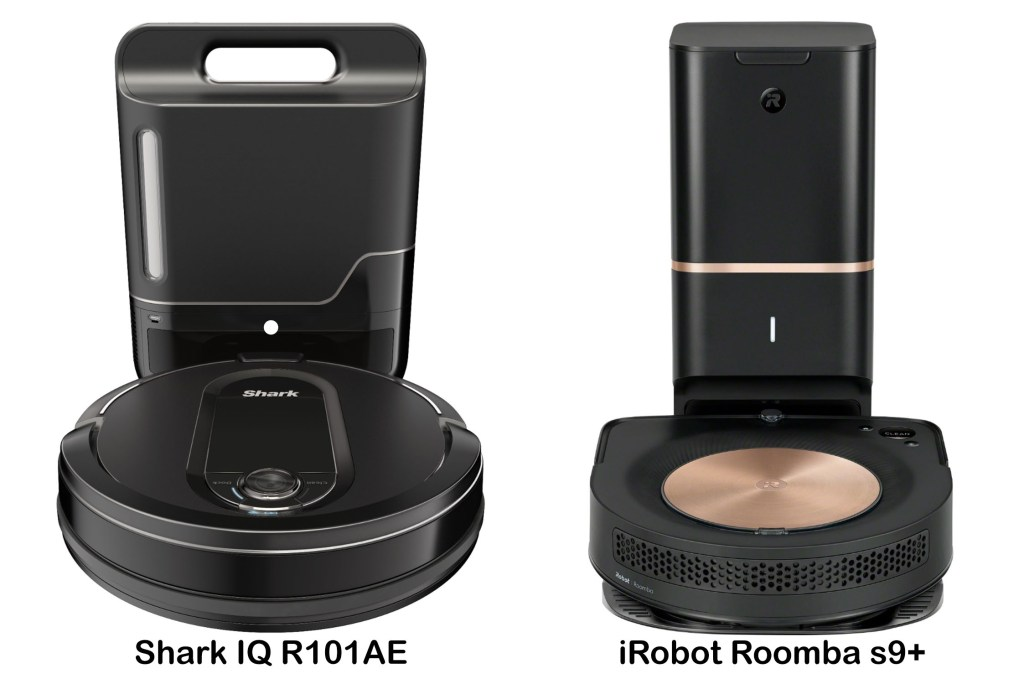 Shark IQ R101AE vs iRobot Roomba s9+