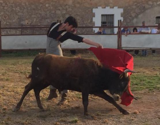 El matador de toros mallorquín Jesús López prepara su temporada