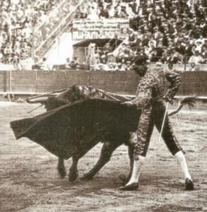 """Natural de Joselito """"El Gallo"""" la tarde que actuó como únicoespada en Barcelona. 3 de junio de 1917."""