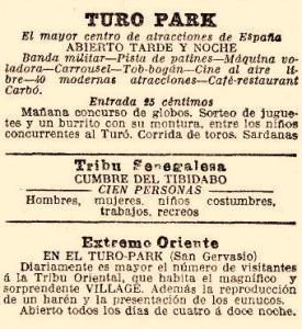 Toros al Turó Park (La Vanguardia, 9 de Juliol de 1913).