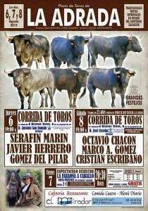 Cartell de la propera Feria de La Adrada (Àvila).