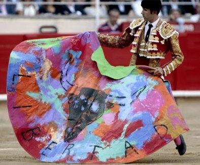 Serafín Marín en la última corrida celebrada en Barcelona