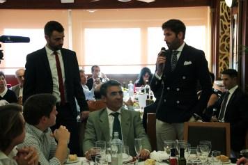Paco Píriz, Victorino Martín y Serafín Marín