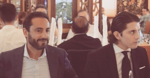 David Casas y Sebastián Ritter