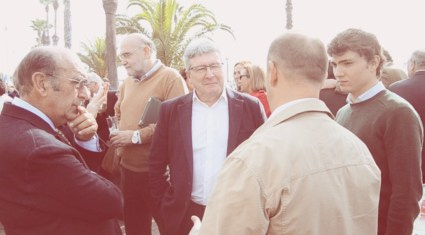 Adolfo Martín, Javier Valero y Jorge Isiegas