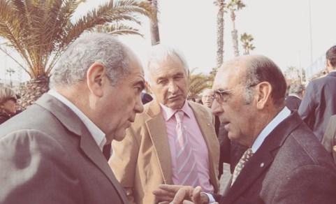 Luis Corrales y Adolfo Martín