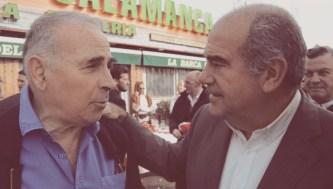 Víctor Gómez Pin y Luis Corrales