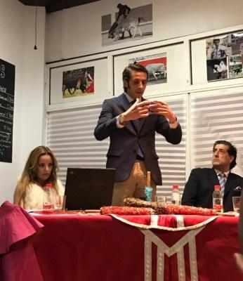 Beatriz García, David Adalid y Federico Gómez