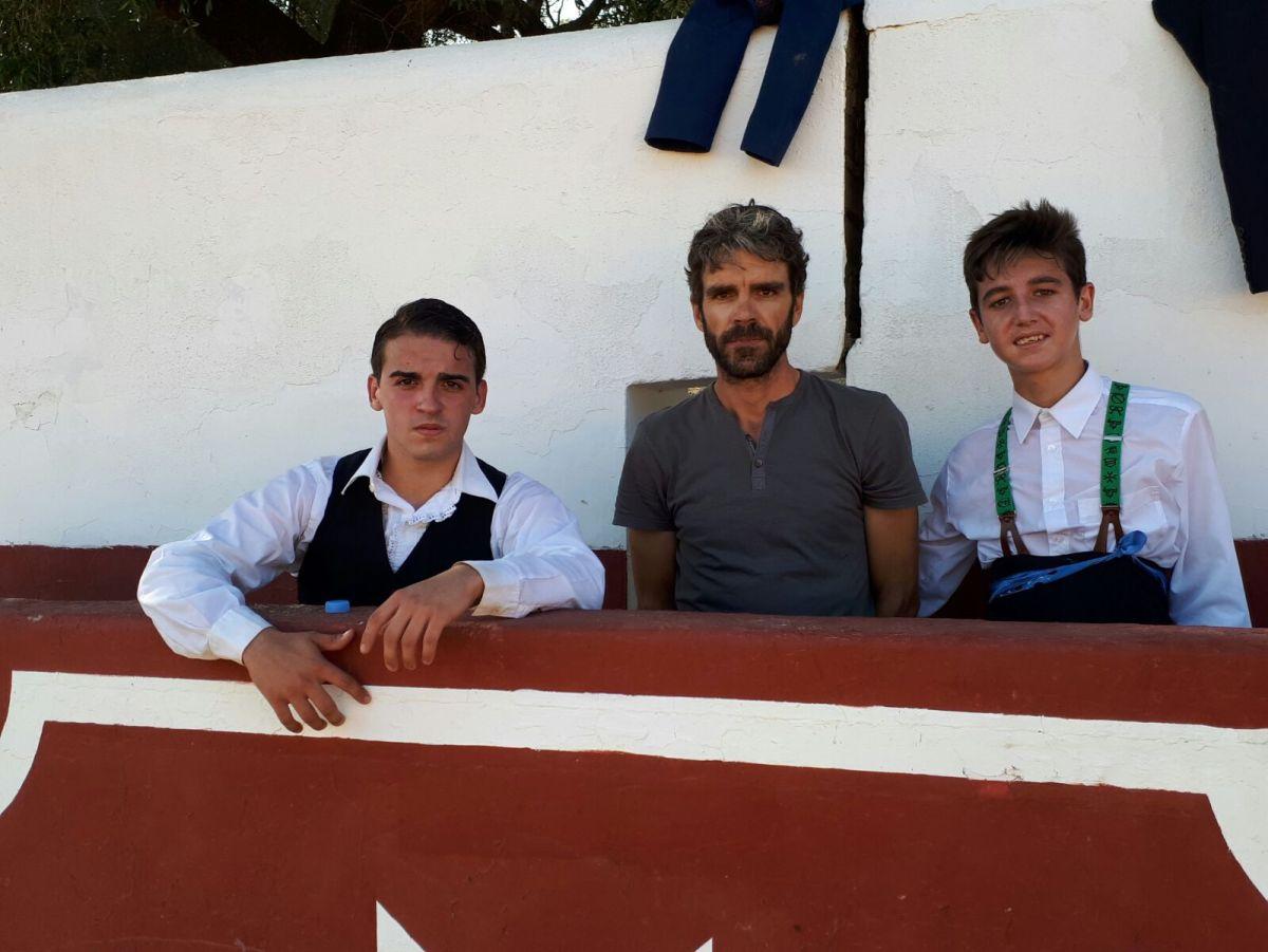 L'Escola Taurina de Catalunya tienta amb José Tomás