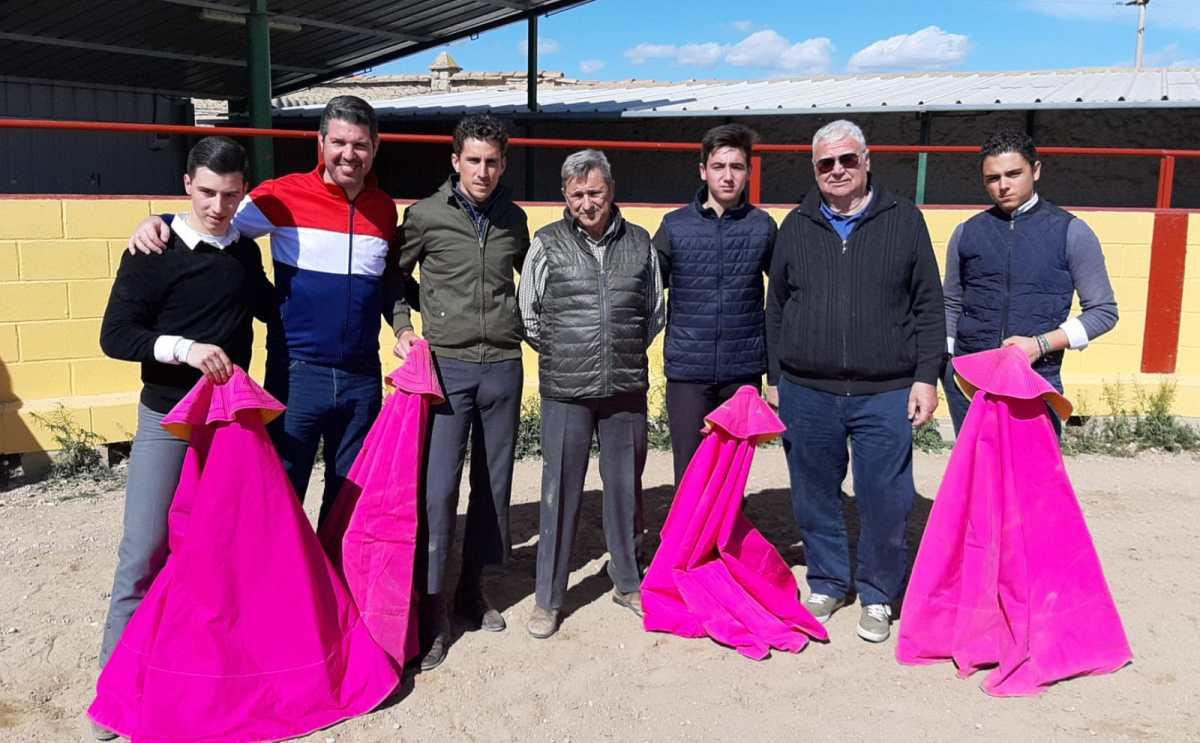 Abel Robles i l'Escola Taurina de Catalunya es preparen a Marcén