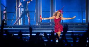 Kylie Minogue actuará esta noche en el Palau Sant Jordi de Barcelona
