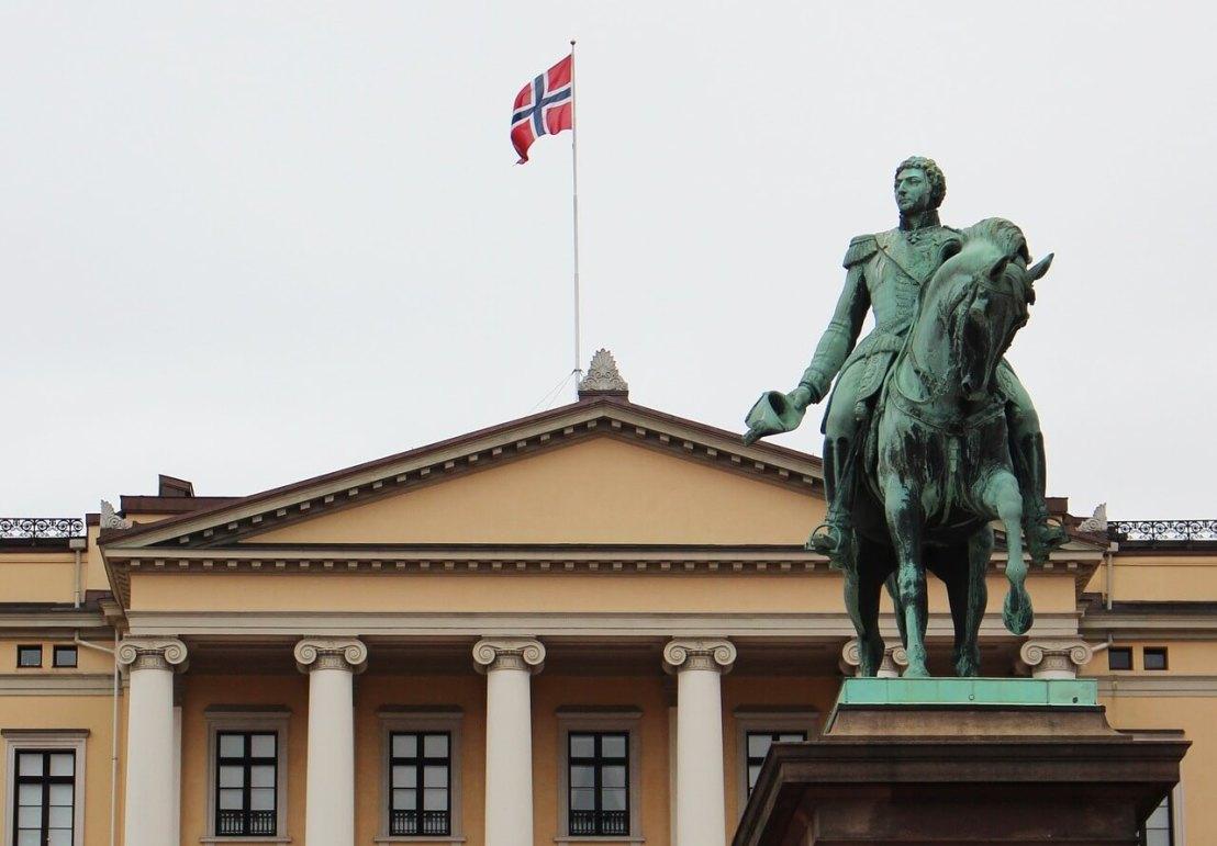 Paleis in Oslo