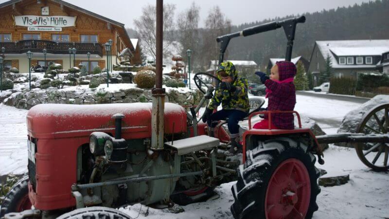Willingen op de tractor, pechblog
