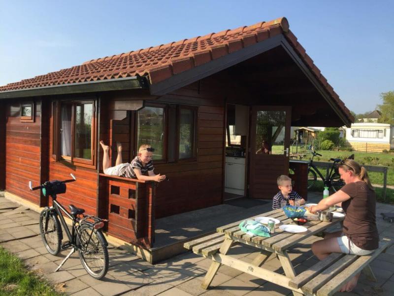 Trekkershut - Stolwijk - Groene Hart - Fietsvakantie