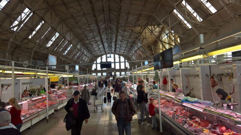 Tips voor Riga: Centrale markt Riga
