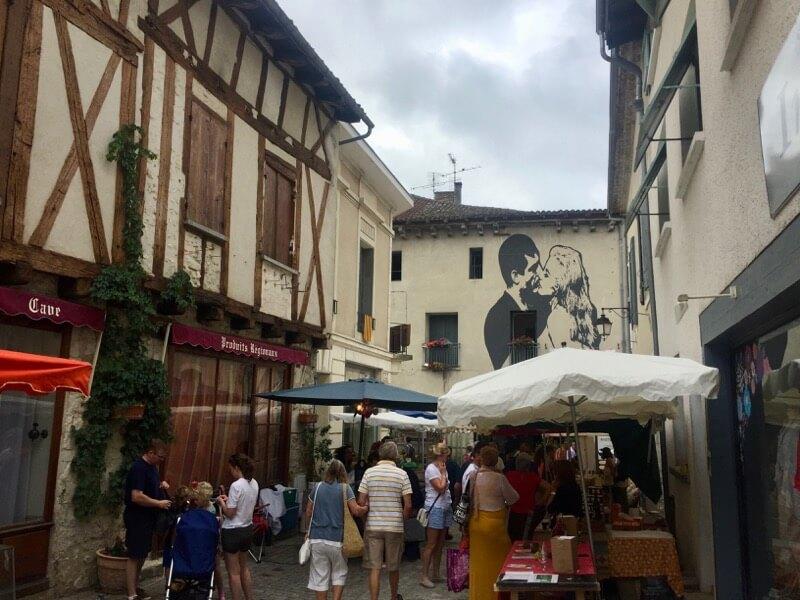 Tips - Dordogne - kinderen - markt - Eymet