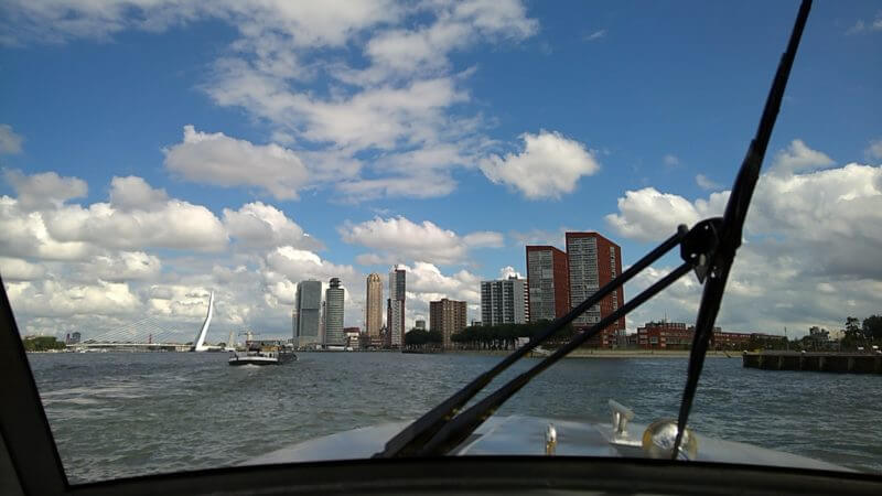 Watertaxi in Rotterdam