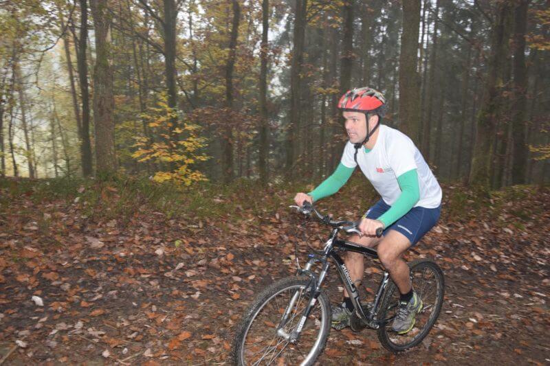 eenzame fietser, Belgische Ardennen