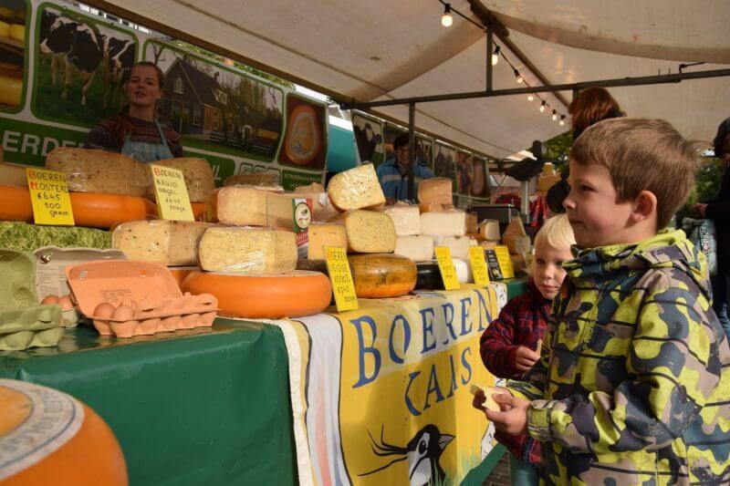 Woerden - Streekmarkt - Boerenkaas - Boerenmarktstad