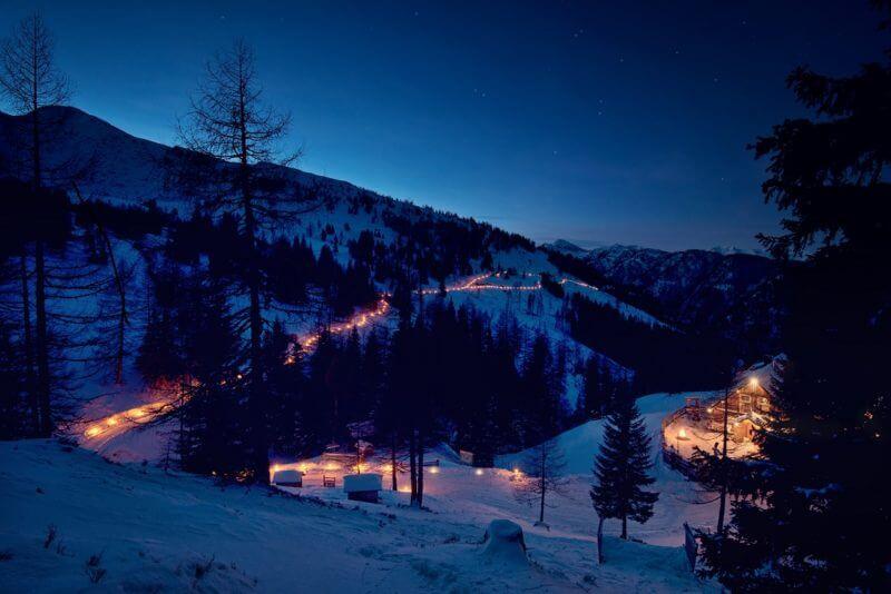 Kerst in Katschberg, de verlichte Adventweg