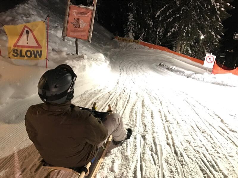 Skiwelt - Rodelen - Toboganning - Going