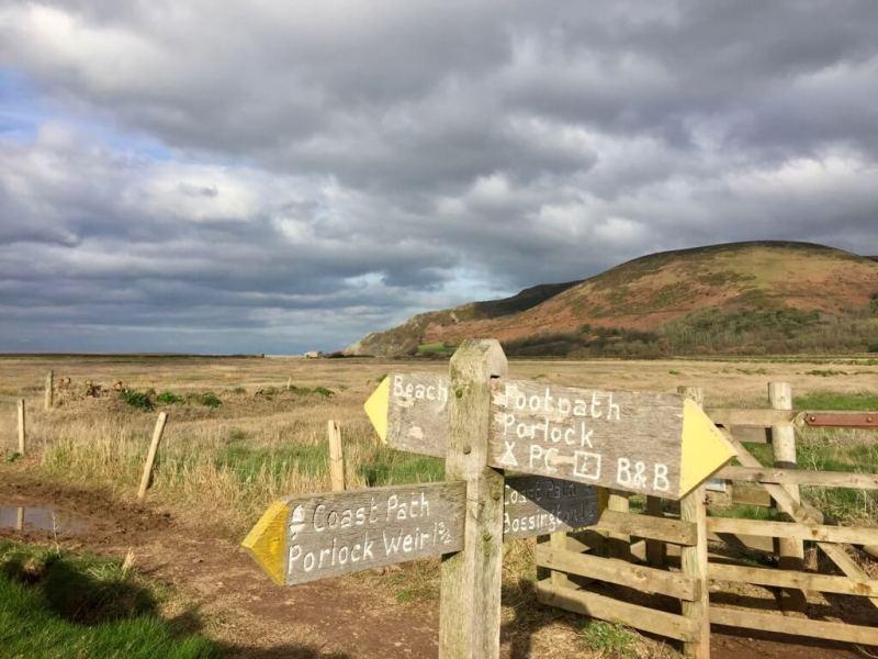 SWCP - Exmoor - Vaders op Reis - South West Coast Path