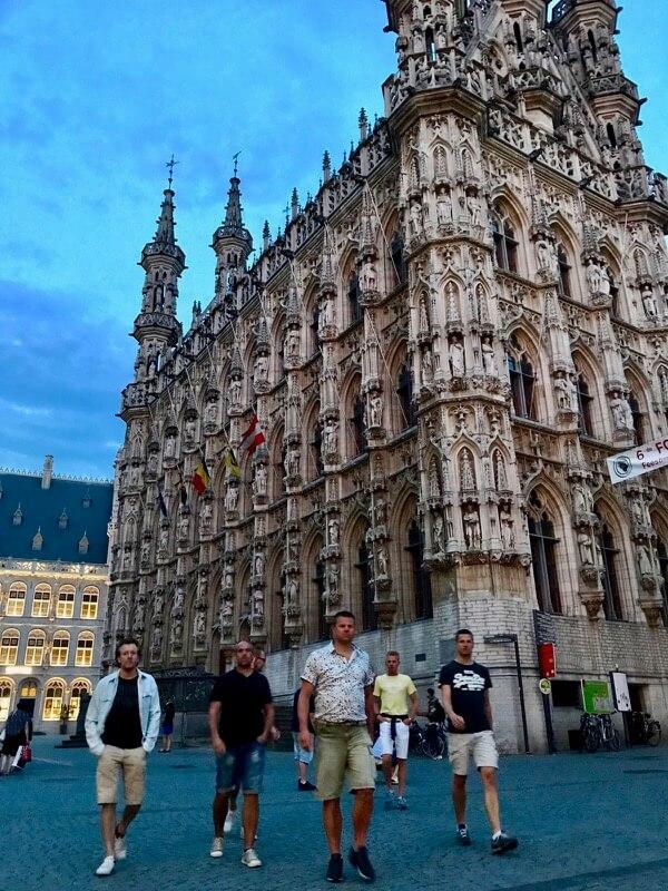 Leuven - Weekendje weg - Vaders op Reis - vriendenweekend