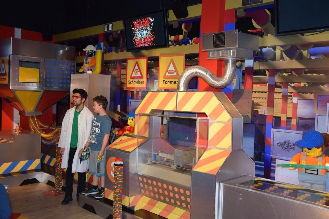 Legostenen maken in Legoland Oberhausen