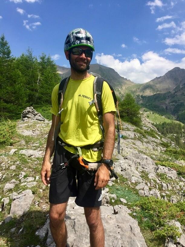 Julien, Guide de Haute Montangne Ancelle Via ferrata