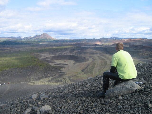 IJsland op de motor