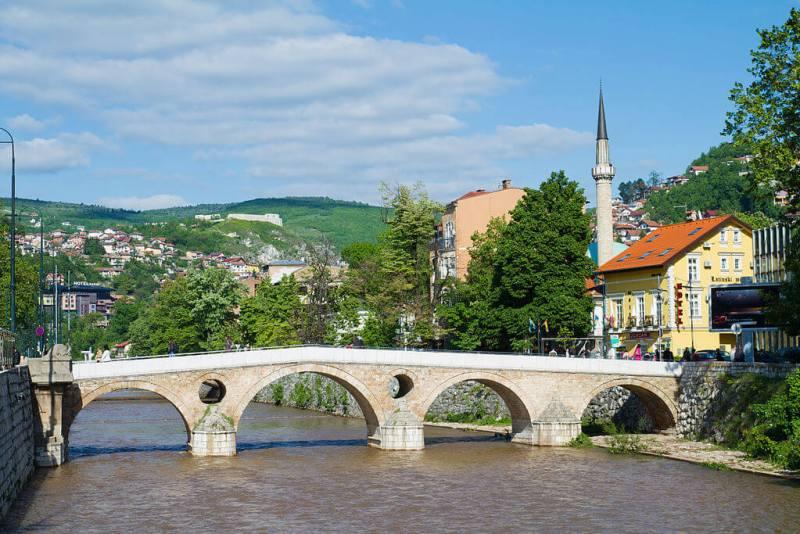 Sarajevo - Citytrip - Bosnie - Vaders op Reis, Latijnse Brug