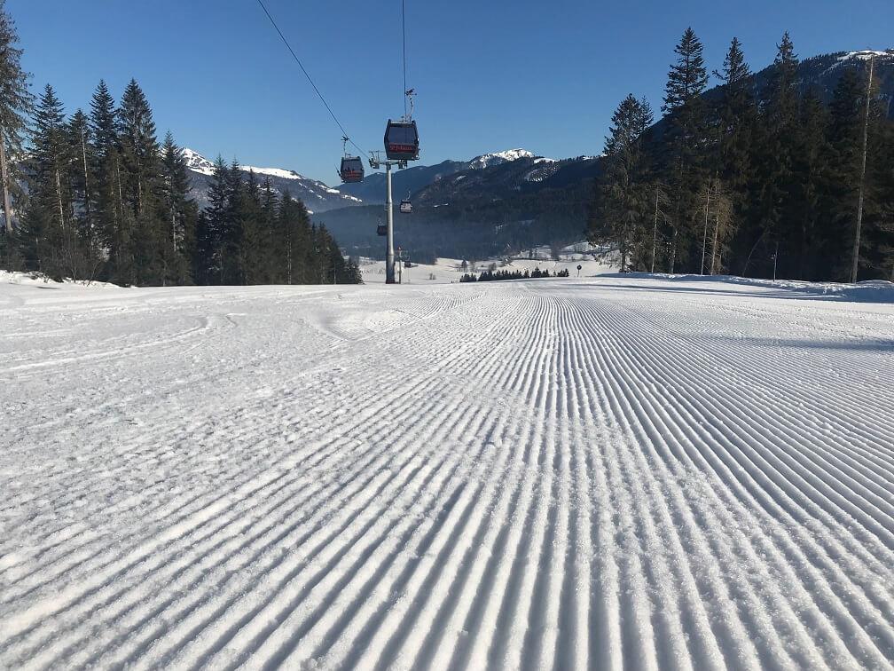 Piste van st. Johann in Tirol