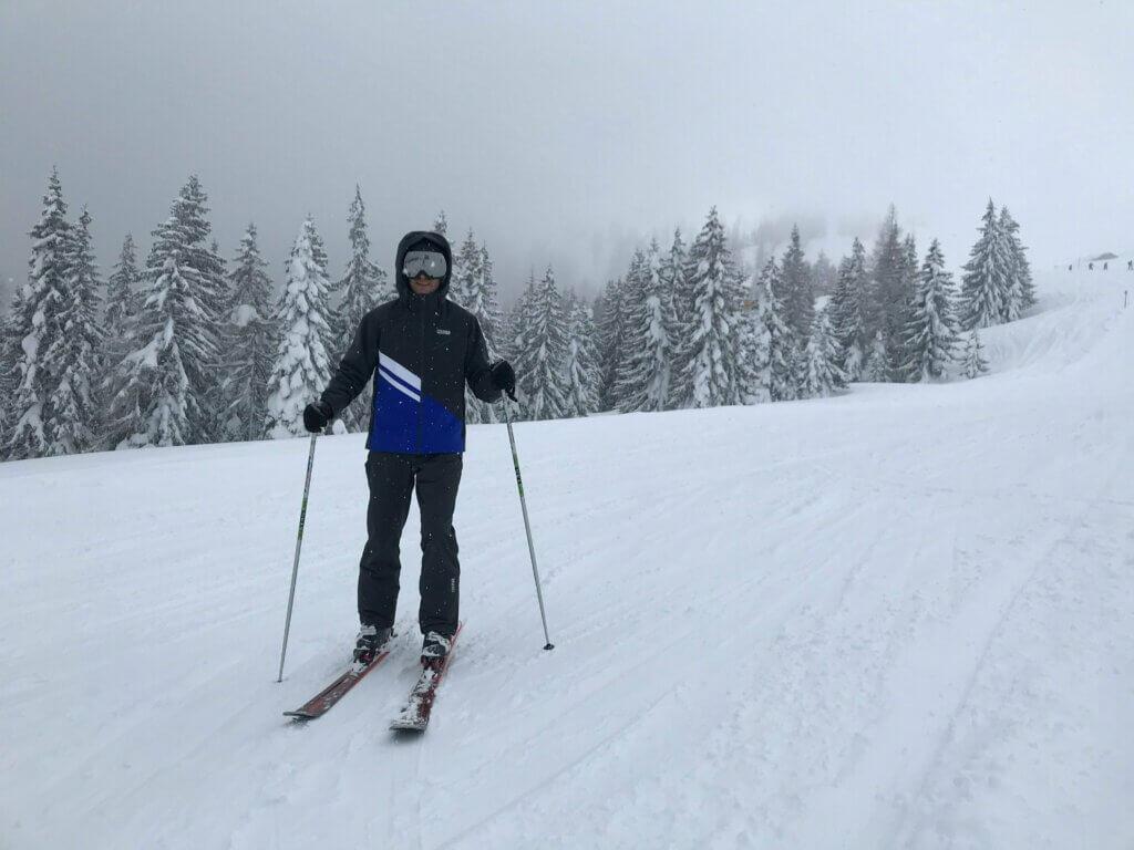 Colmarjack in Flachau met sneeuw