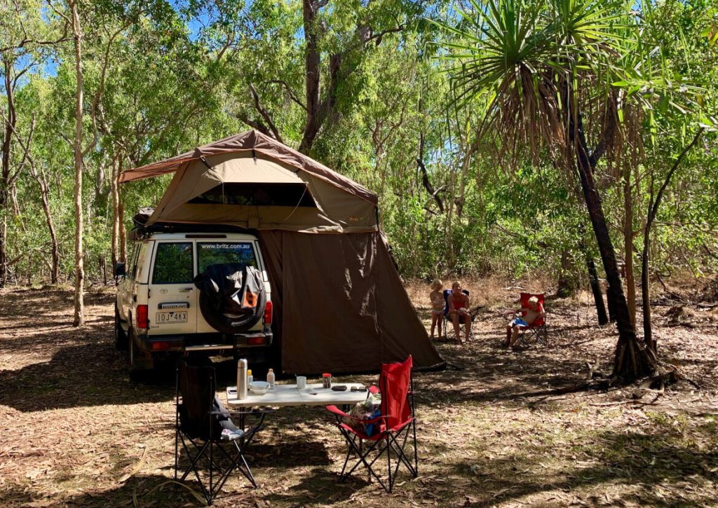 Kamperen op Cooinda Lodge Camping