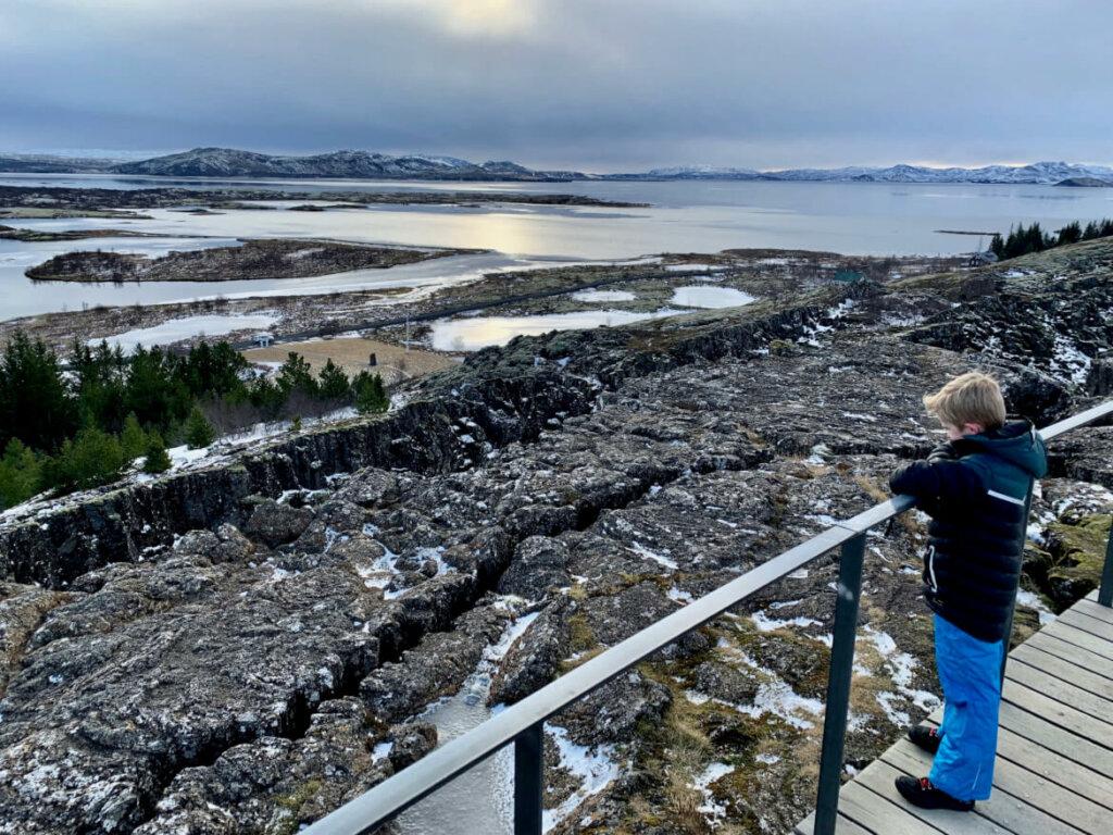 IJsland in de winter - Tingvellir National Park