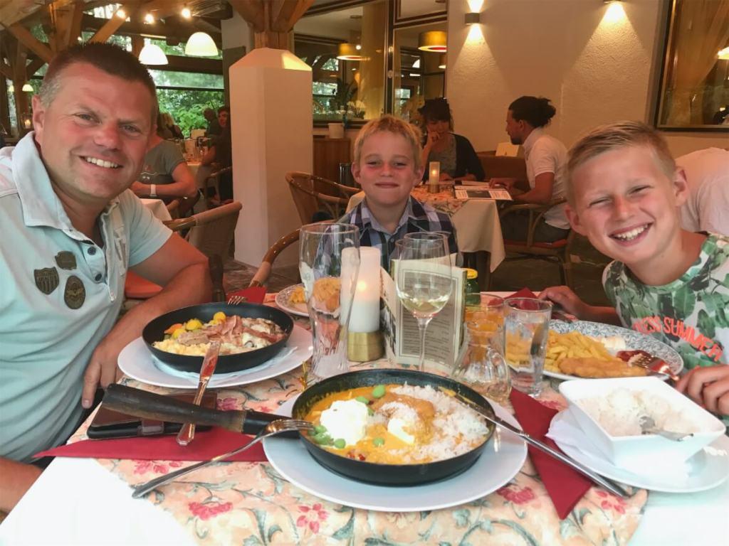 Camping Anderwald - Karinthië - Vaders op Reis - Restaurant
