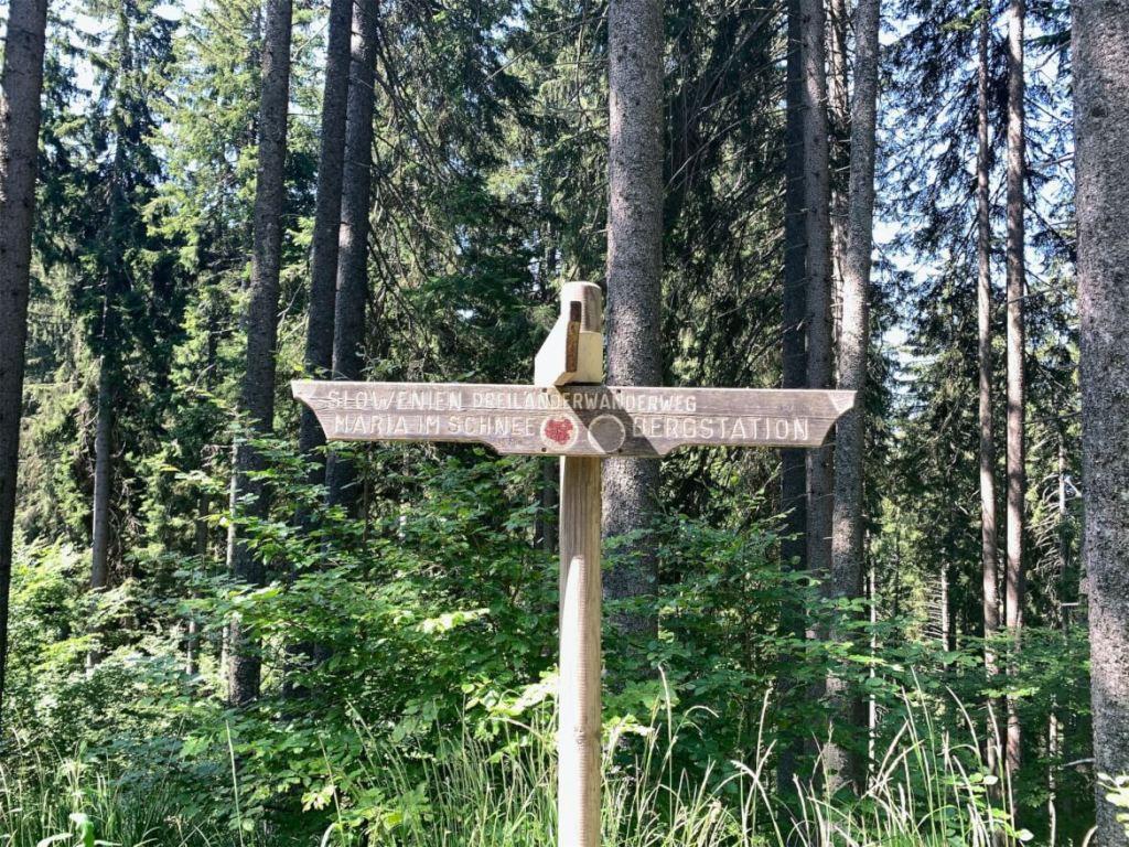 Dreilandereck - Karinthië - drielandenpunt