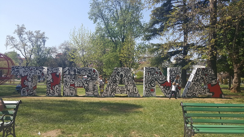 Tirana Parco Rinia