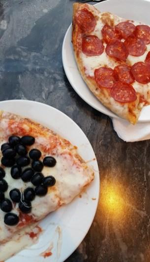 Vacanze a Saranda, pizza di Herman the iconic slice from Milan