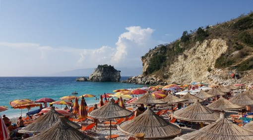 Vacanze a Saranda Spiaggia di Pasqyrave