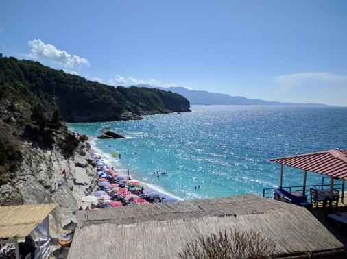 Vacanze a Saranda spiaggia di Pulebardha