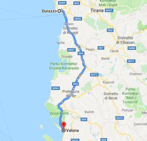 Durazzo Valona Vacanze in Albania itinerario 10 giorni
