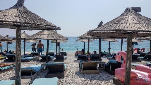 Vacanze in Albania con i bambini, Spiaggia di Borsh, andare in albania con i bambin
