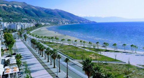 Valona lungomare, Albania, itinerario di 10 giorni