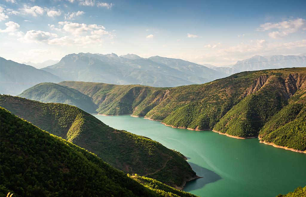 Koman lake, lago di Koman Albania tour