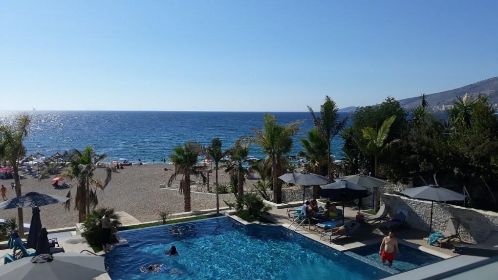 Saranda spiaggia mare, hotel El Primero
